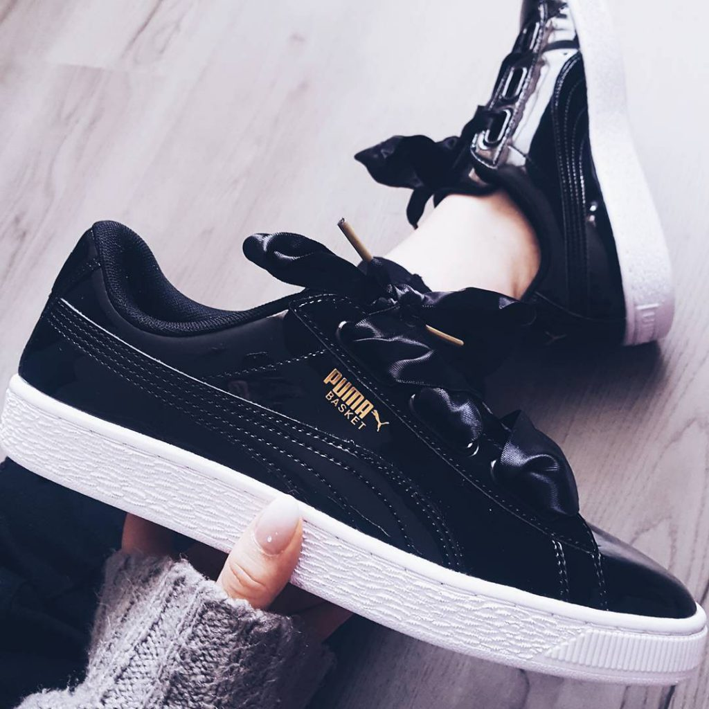 Opfer! shoeaddict pumabasketheart styleaddict fashion shoes shoe shoes shoeslover