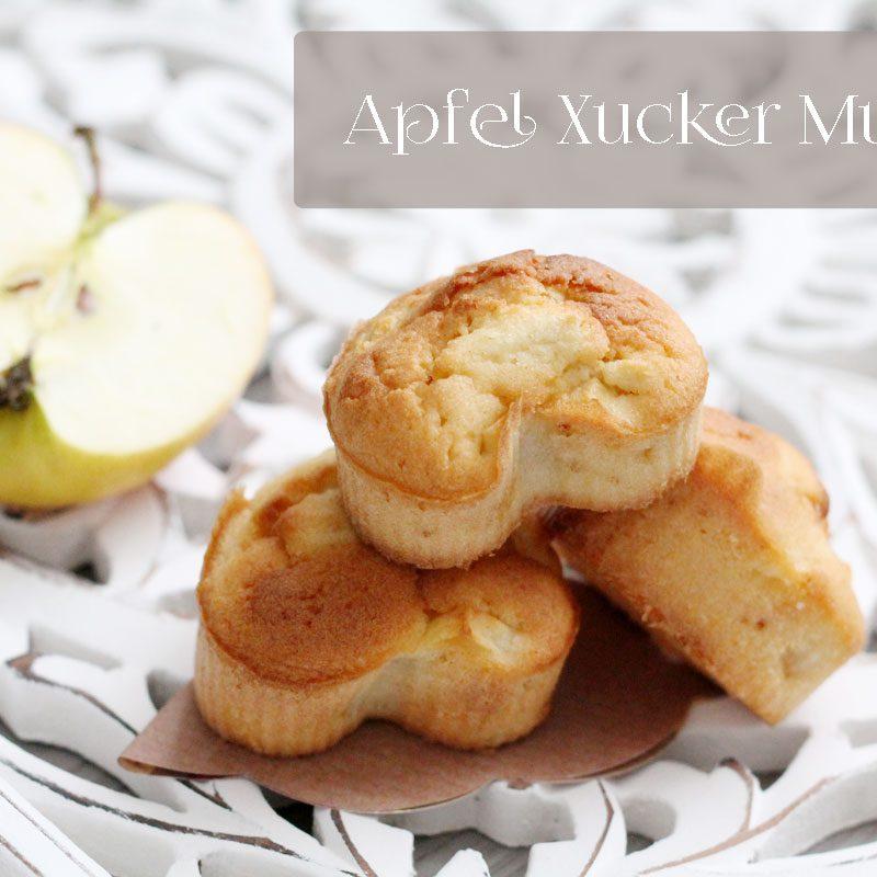 Apfel-Xucker Muffins