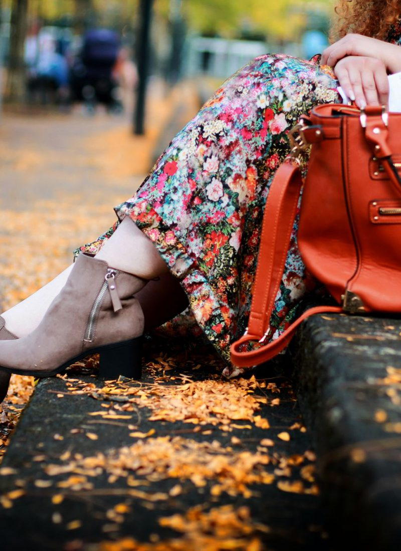 Ich fühle mich hässlich. Wie fühlst Du Dich? – Herbstkleid