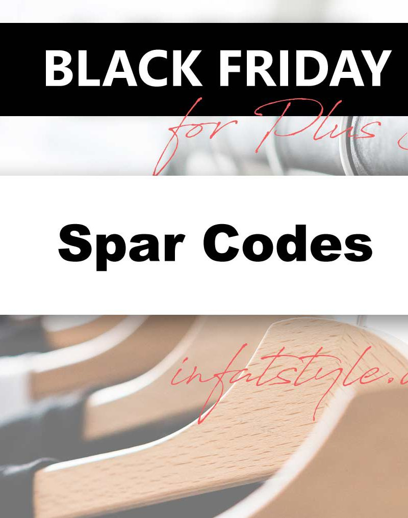 Black-Friday for Plus Size / Codes