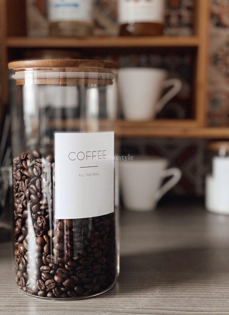 Kaffeebar – zu Hause